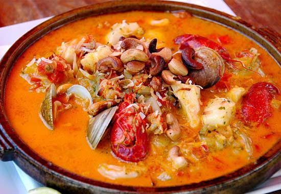 Moqueca brazilian sea food dish
